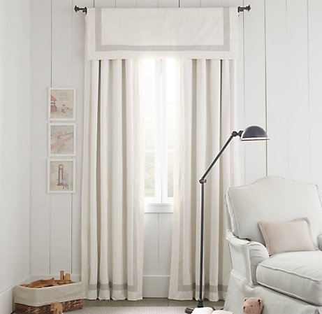 Hooked on hickory may 2012 for Restoration hardware window shades