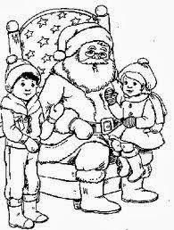 imágenes de navidad para colorear