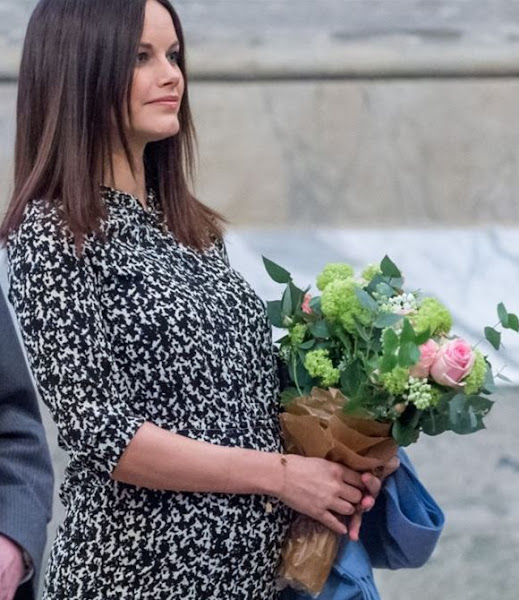 King Carl Gustaf, Queen Silvia and Princess Sofia Hellqvist of Sweden attended a concert at the Royal Palace in Stockholm. The concert was held in the Hall of State at the Royal Palace of Stockholm as part of the Young Music at the Palace festival.