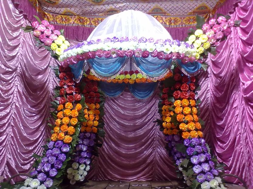 Ganpati Mandap Decoration Ideas At Home Online Image Arcade