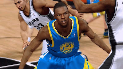 NBA 2K13 Harrison Barnes Warrios Playoffs Update