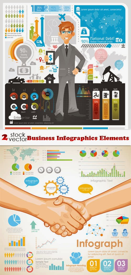 Business Infographics Elements