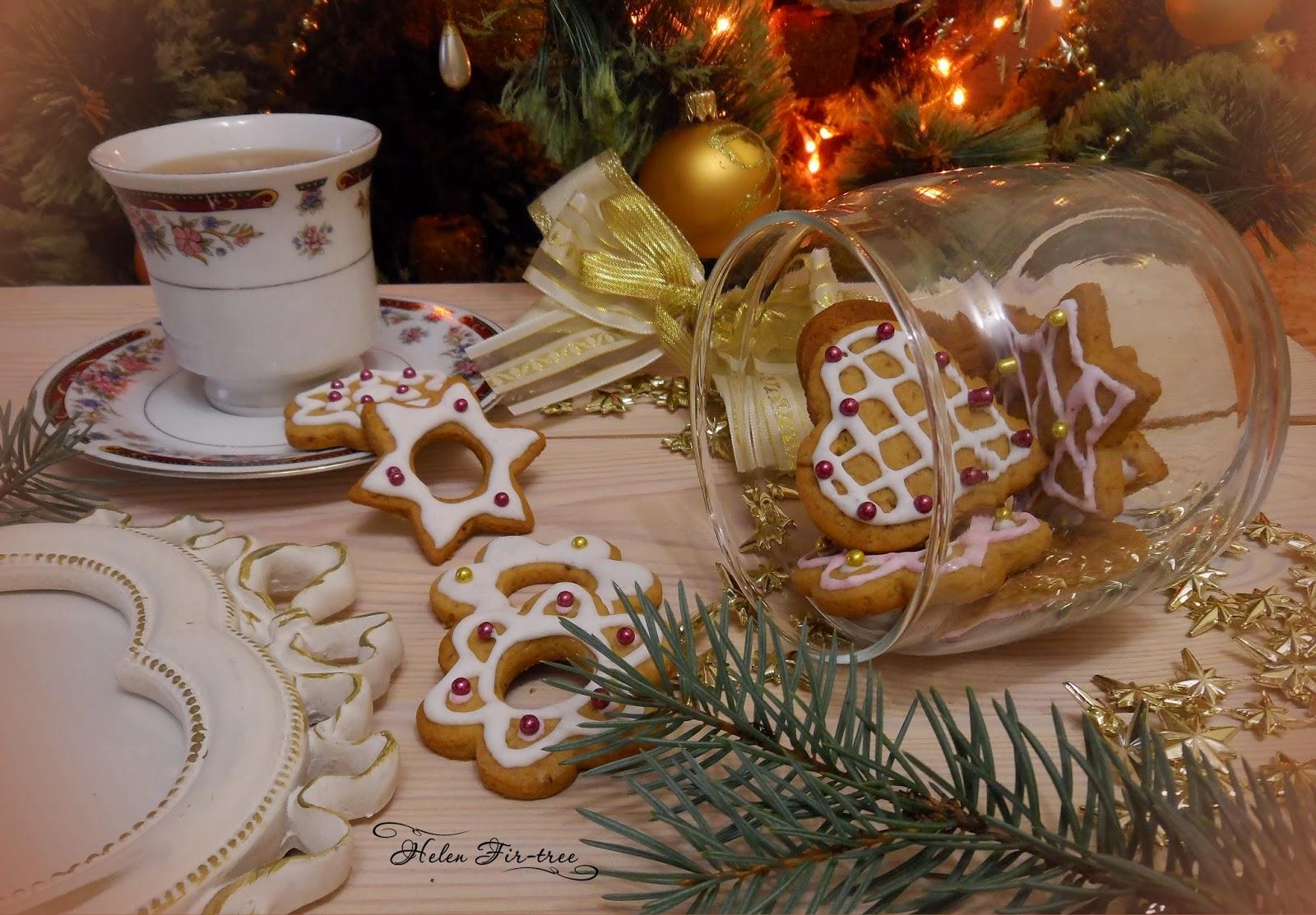 Helen Fir-tree Рождественское печенье Christmas cookies