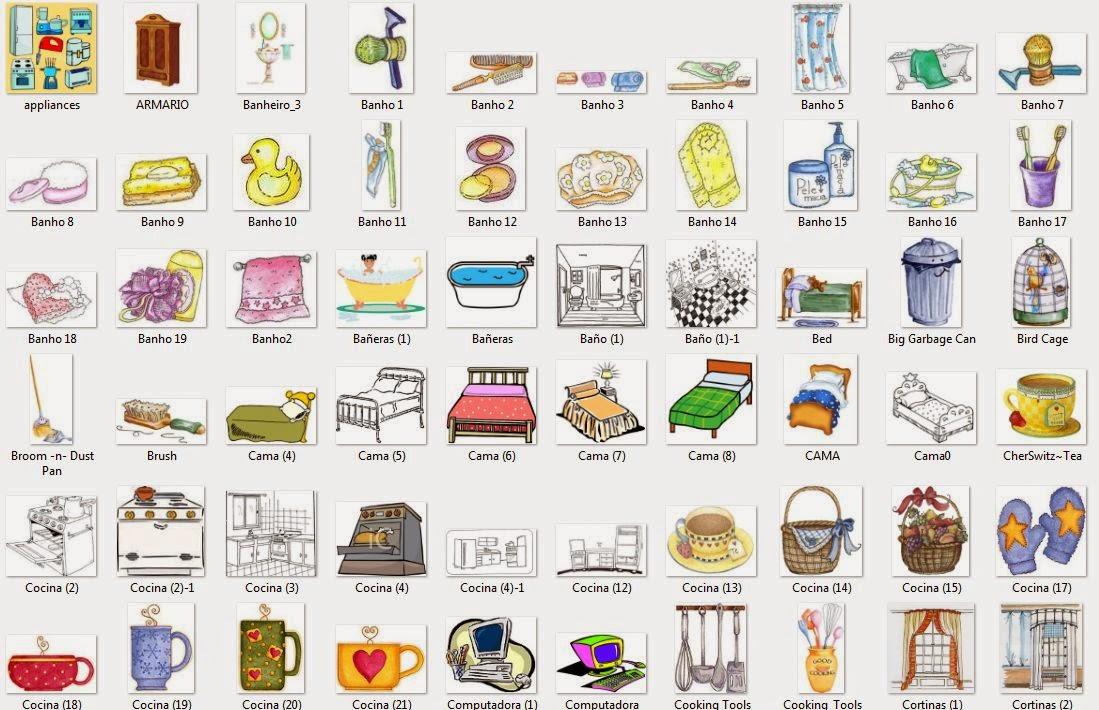 La alegr a de ense ar 182 im genes para trabajar elementos de la casa - Articulos de casa ...