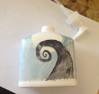 Crafting tutorial: Ceramic Soap Pump.