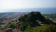 Kyparissia et son château