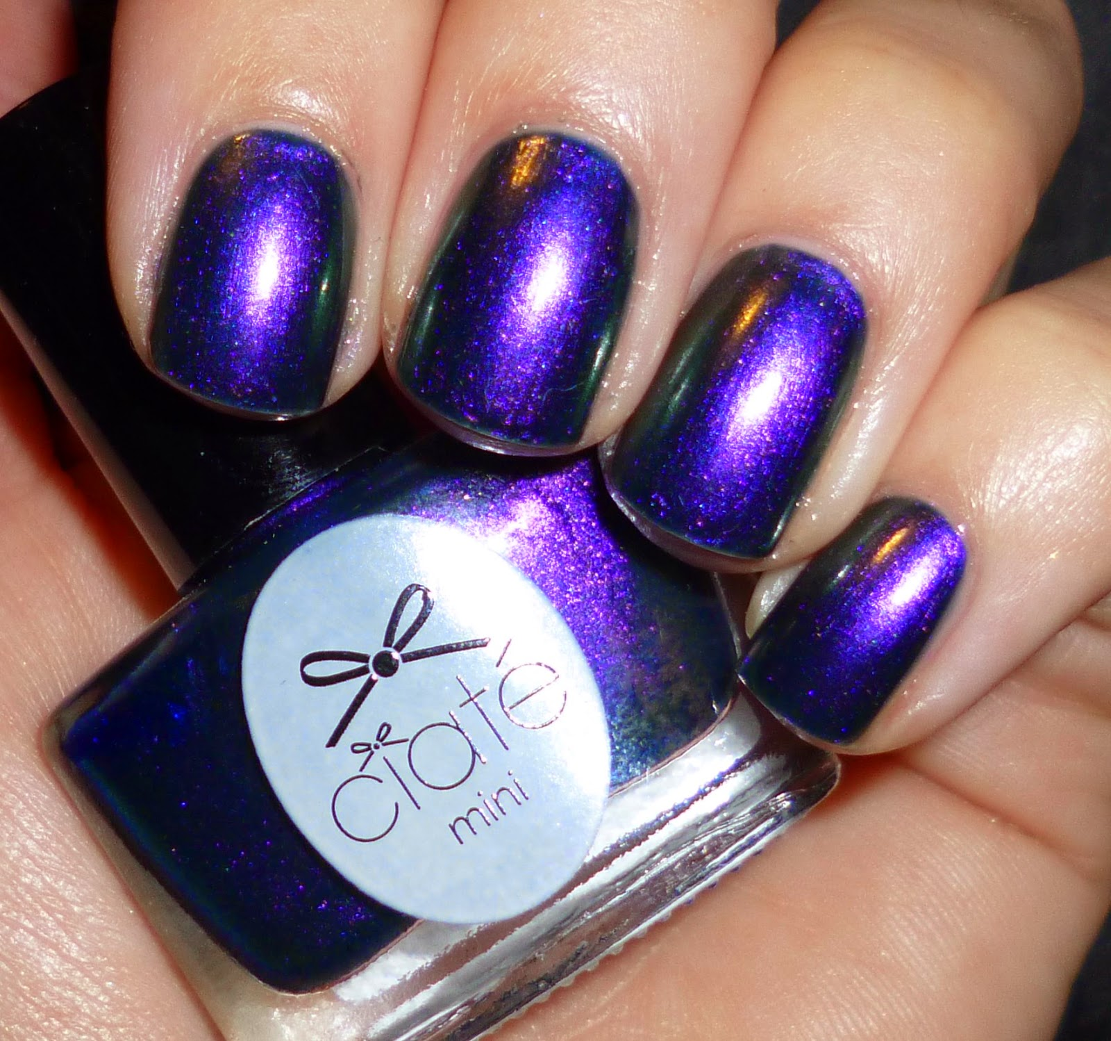 Swatch Ciate: Lou Is Perfectly Polished: Swatch: Ciate: Starlet