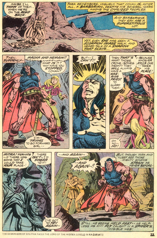 Conan the Barbarian (1970) Issue #54 #66 - English 14