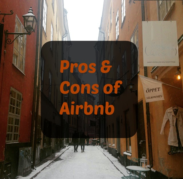 pros and cons of airbnb