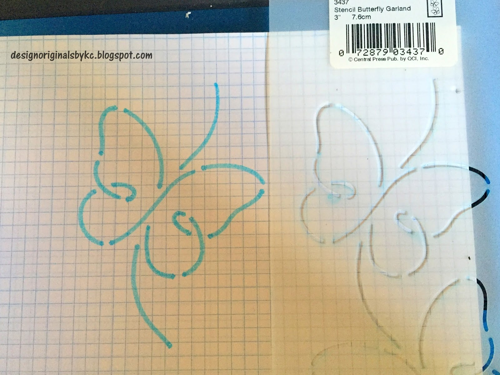 How To Use Stencils In Quilting : Design Originals by KC: Stencils and Hand Quilting with them ~ Tutorial
