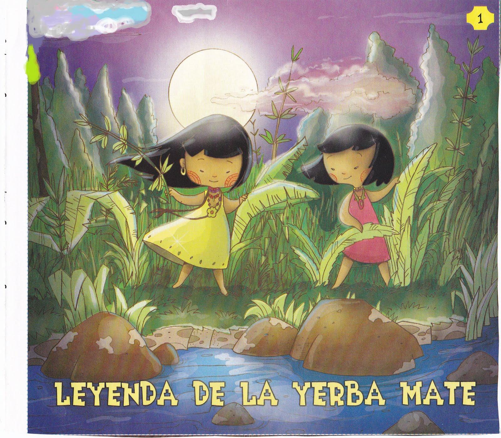 Papeles...: La leyenda de la Yerba Mate