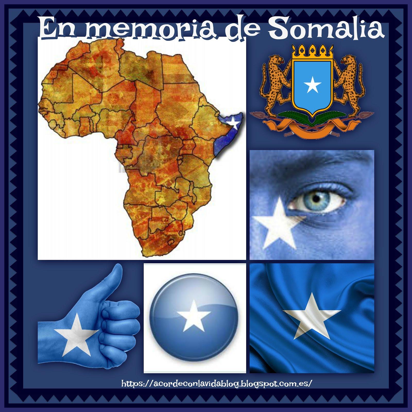 * En Memoria de las Víctimas en el Atentado en Somalia *