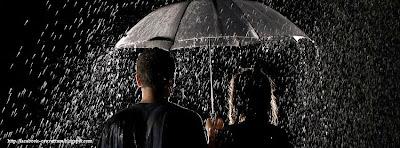 Couverture pour facebook pluie
