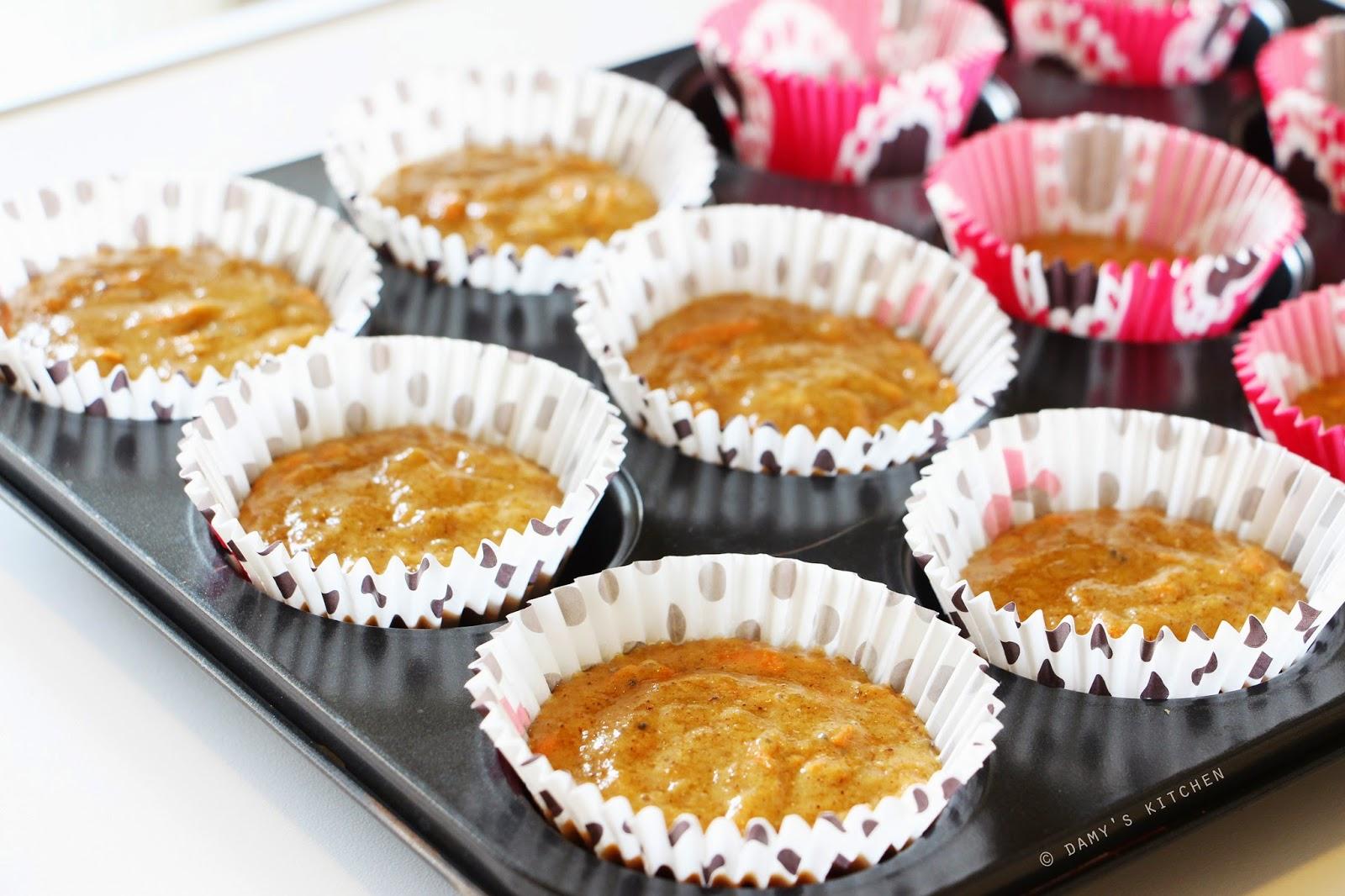 Elmalı Havuçlu Muffin