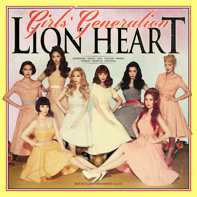 Girls' Generation – Lion Heart – The 5th Album