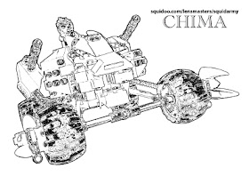 Chima Lego Coloring Pages