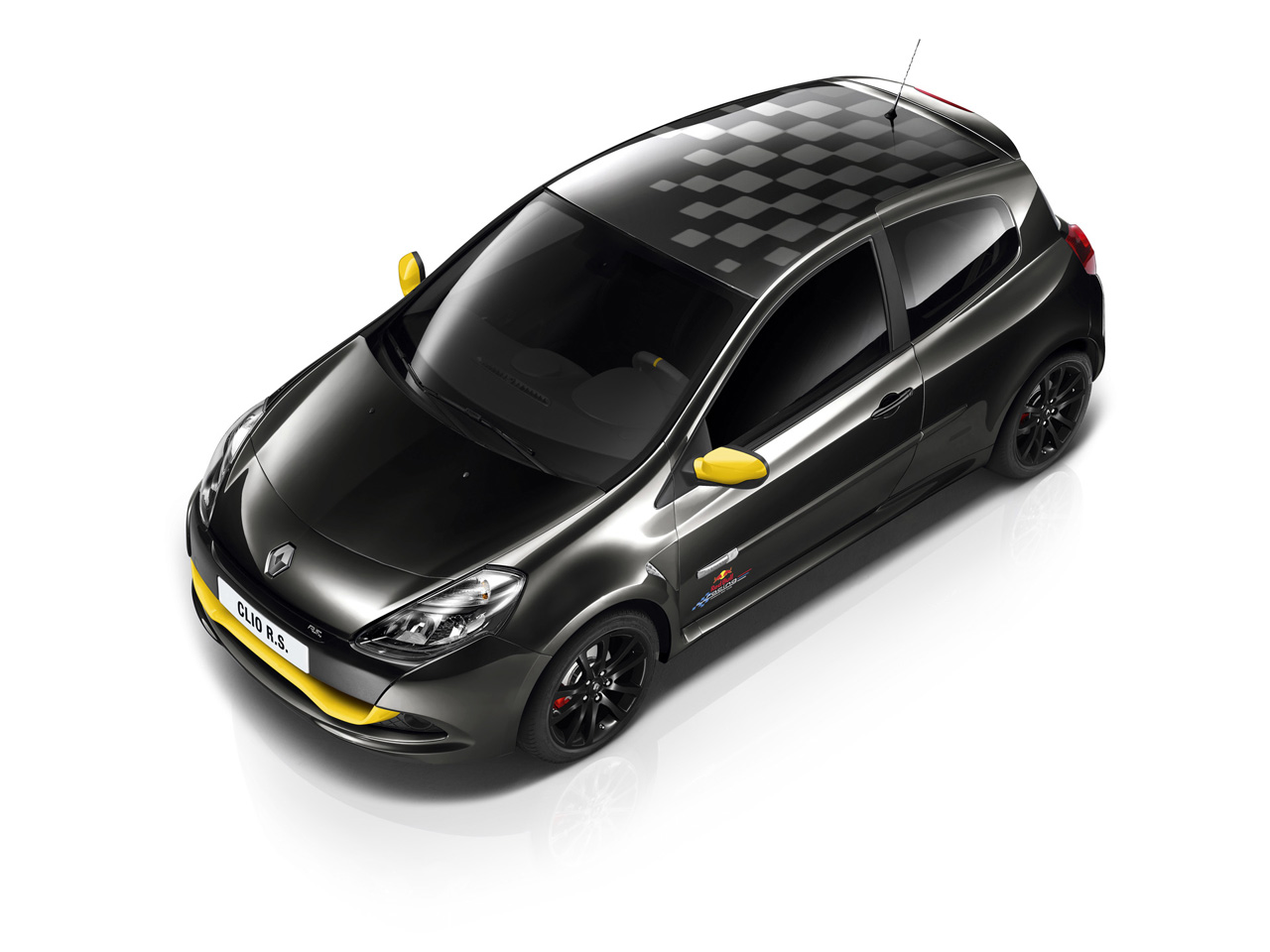 macchina renault clio rs red bull racing rb7 garagem do rovida. Black Bedroom Furniture Sets. Home Design Ideas
