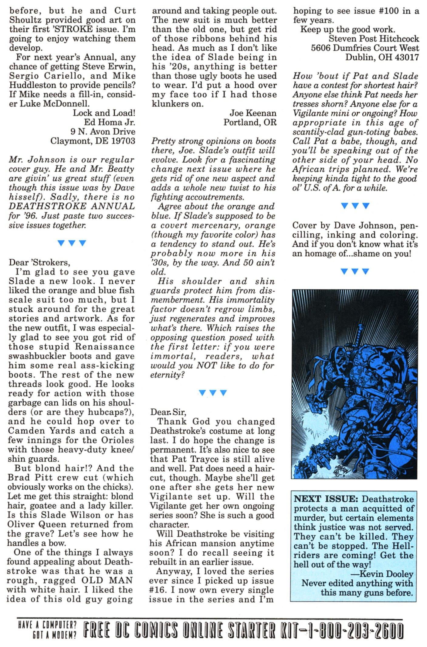 Deathstroke (1991) Issue #58 #63 - English 25