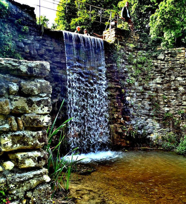Waterfall at The Wilderness Festival
