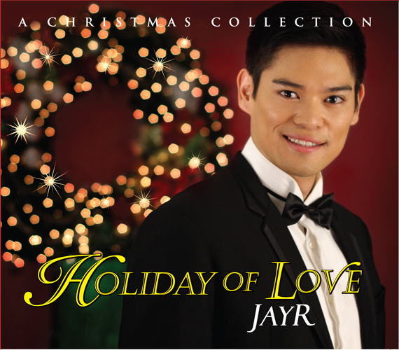 "JayR Produces Own Christmas Album ""Holiday of Love"""