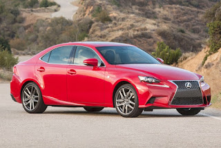 2016 New Lexus IS More sporty  side rear view
