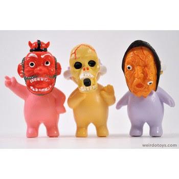 Muñecos horripilantes y terroríficos