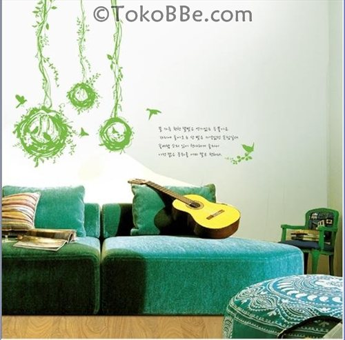 Wall Sticker Murah Anti Air