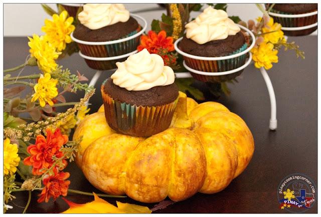 Pinay In Texas Cooking Corner: Chocolate Pumpkin Cupcakes ...