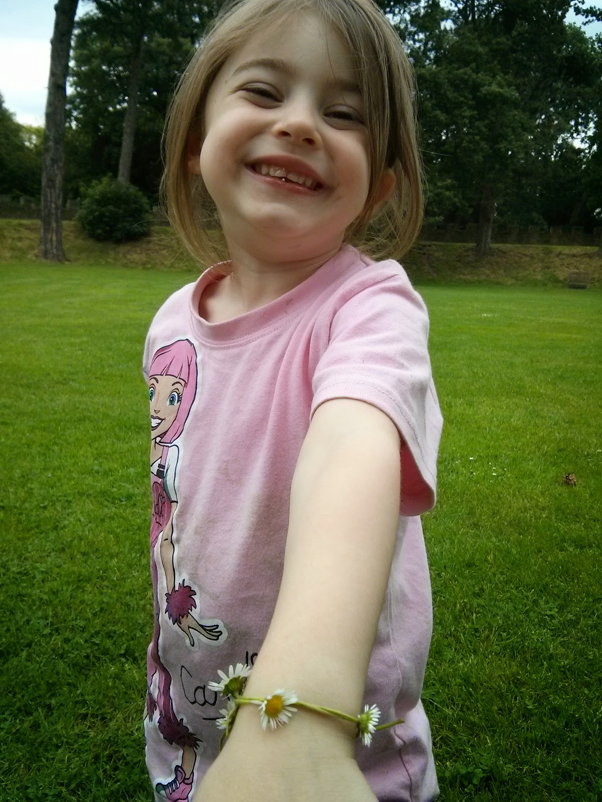 Eldest with Daisy chain
