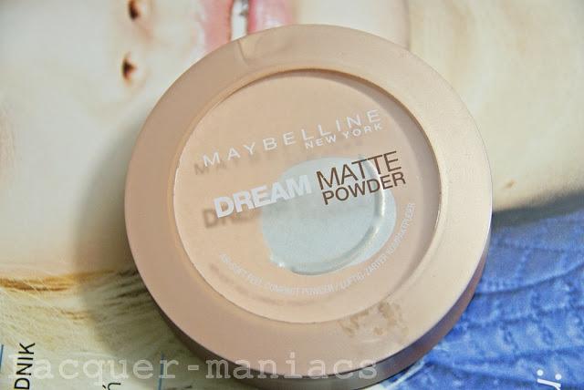 Mój ulubieniec w wykończeniu makijażu - puder Maybelline Dream Matte