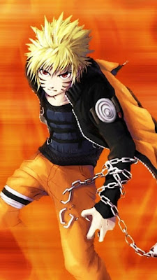 Naruto Chains Mobile Wallpaper