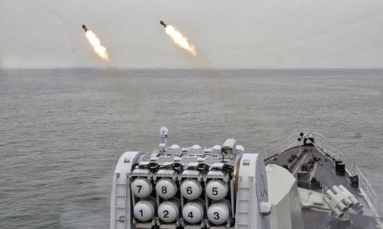 Hải quân Trung Quốc vẫn đang triển khai các bài tập trận tại các địa điểm bí mật trên khu vực Tây Thái Bình Dương. Ảnh: Navy81