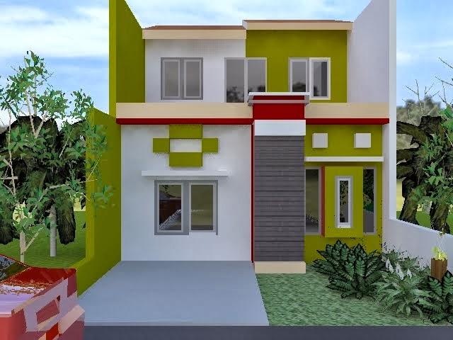 desain interior rumah dengan warna cat dinding cerah