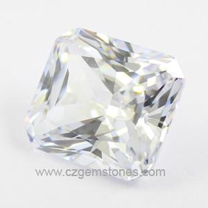 radiant cut diamond simulants stones