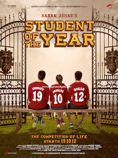 First Look Posters - Student Of The Year - Introducing Alia Bhatt, Varun Dhawan, Sidharth Malhotra,
