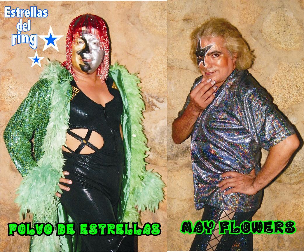 Luchadores Los Exoticos Por Los Exóticos Polvo de