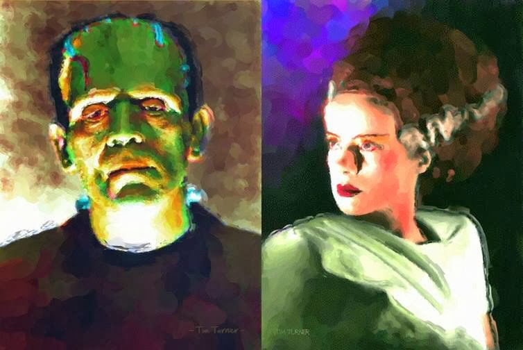Artwork: Frankenstein's Monsters
