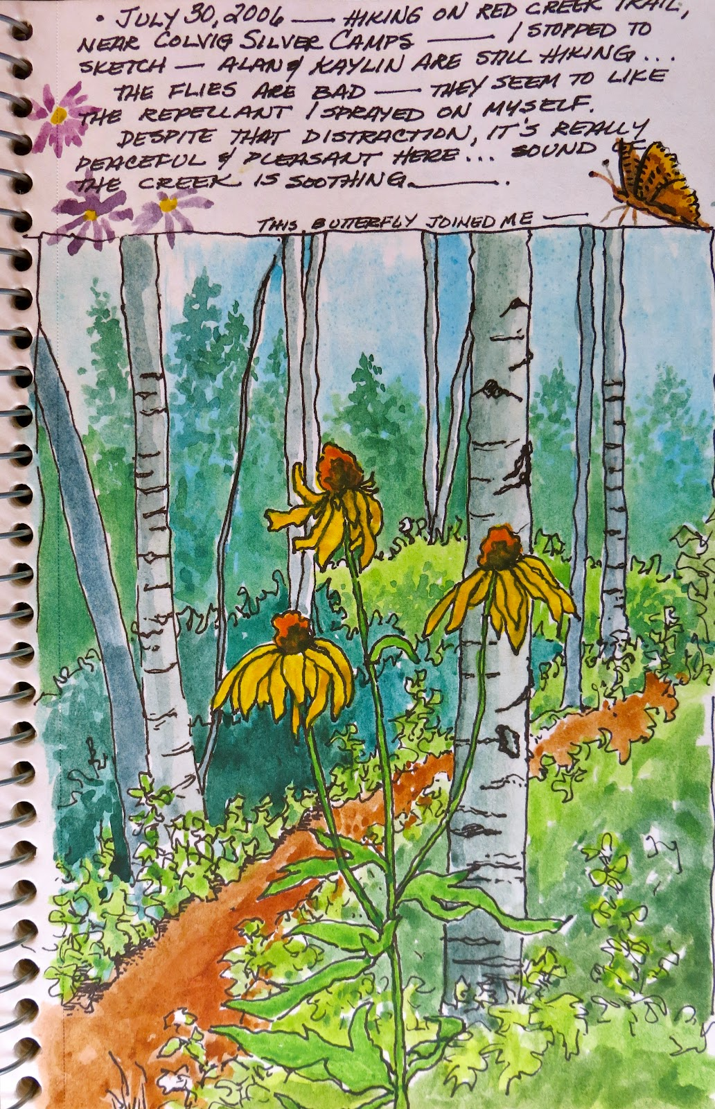 The Painted Prism: SKETCHBOOK ASSIGNMENT: Trees & Leaves -- 10 ...