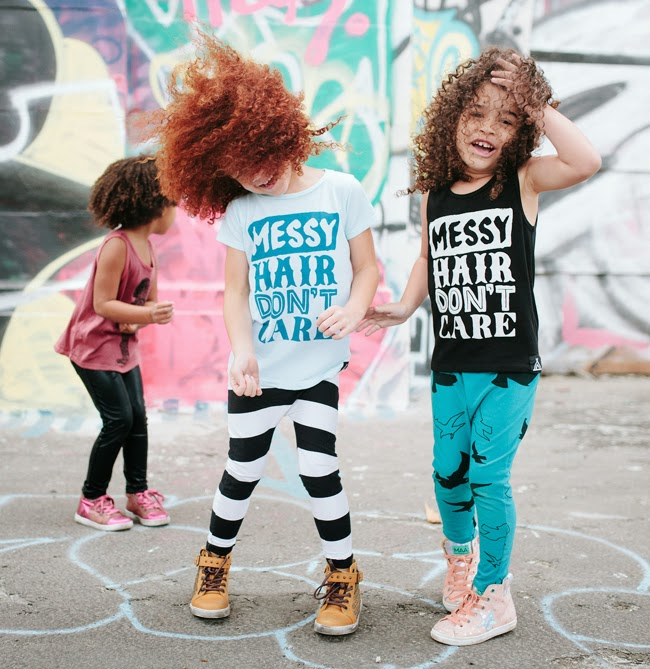 Quinn & Fox SS15 - Messy Hair Don't Care tees
