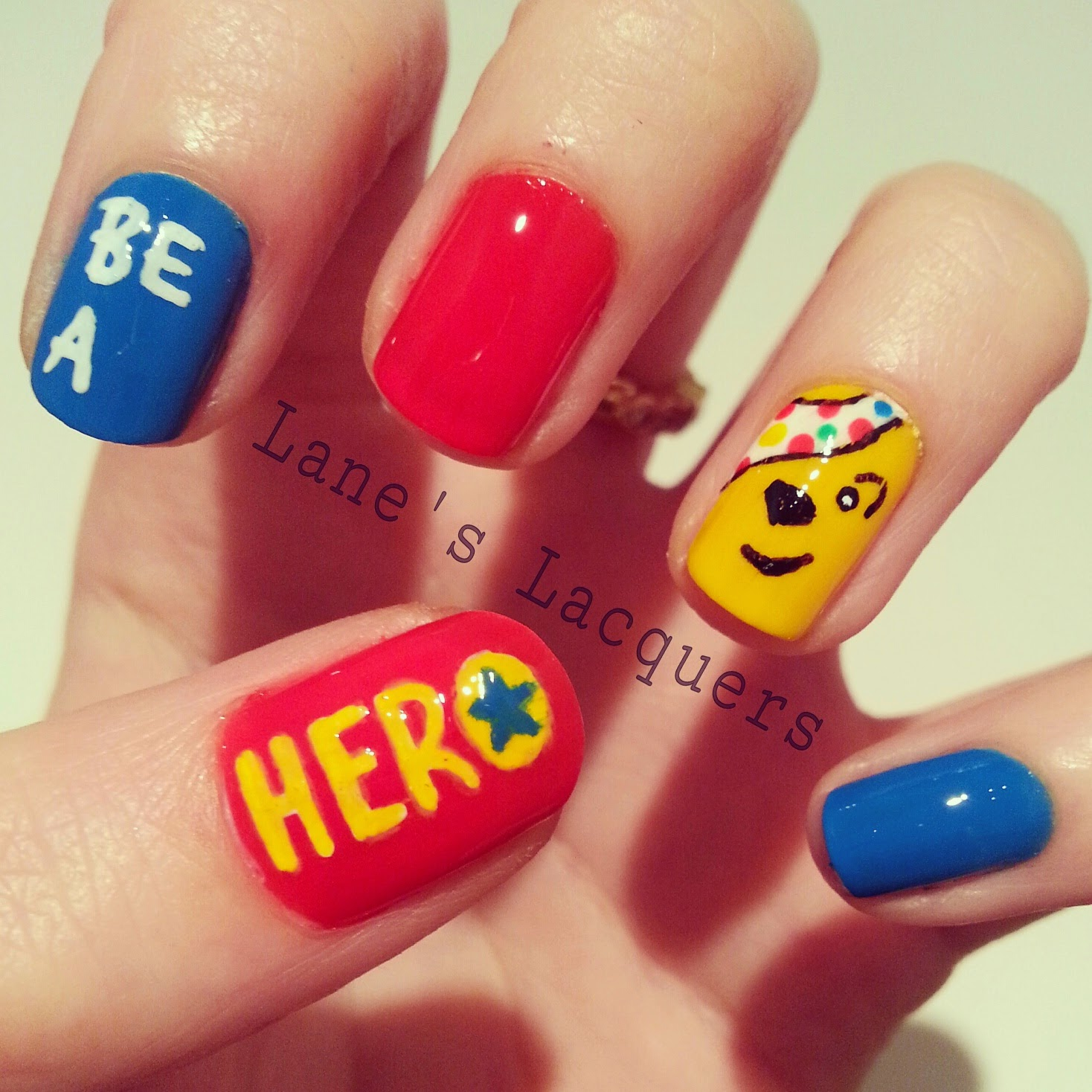 bbc-children-in-need-2014-be-a-hero-pudsey-nail-art (1)