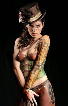 Body Painting for Girls