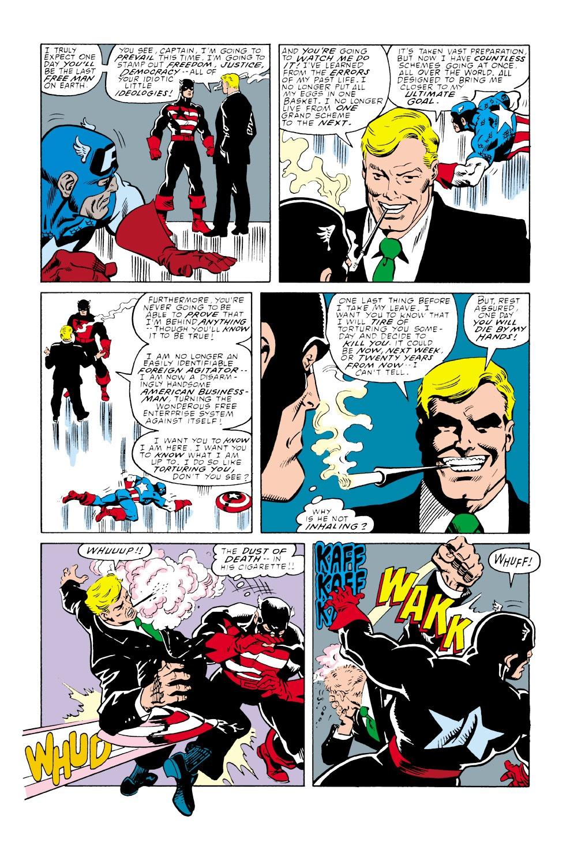 Captain America (1968) Issue #350 #282 - English 37