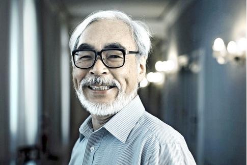 Retiring Hayao Miyazaki Picture