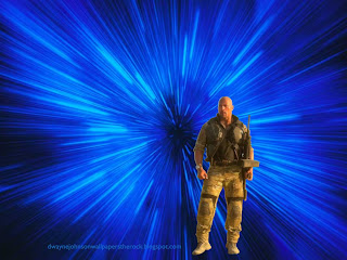 Dwayne Johnson Wallpapers The Rock Desert Clothing in Blue Vortex Space desktop wallpaper