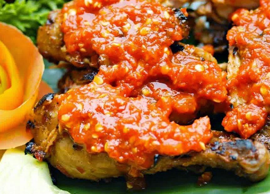 Ayam Bakar Rica-rica Pedas