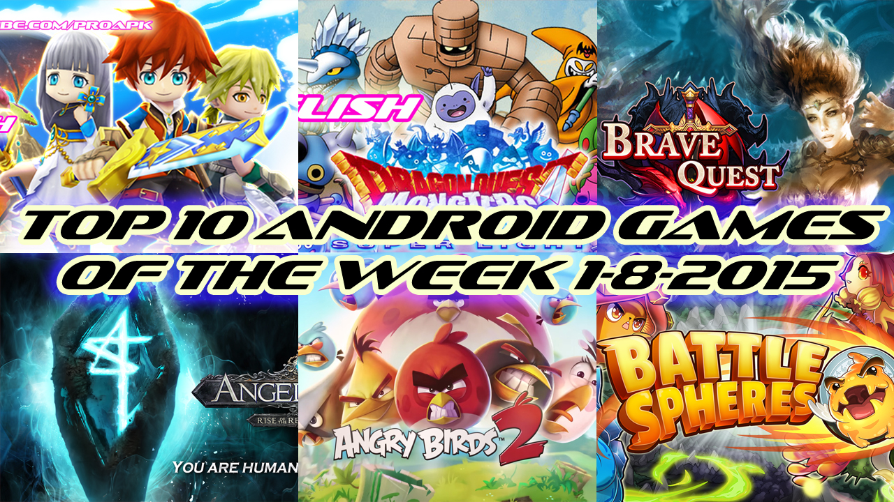 TOP 10 BEST NEW ANDROID GAMES OF THE WEEK - 25th July 2015