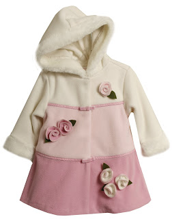 Baby-girls Infant Colorblock Jacket