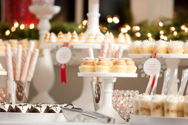 Minneapolis Holiday Dessert Table