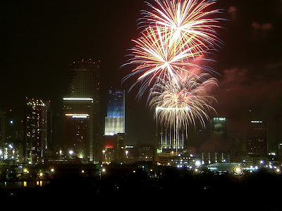 fourth of july with skinny fiber