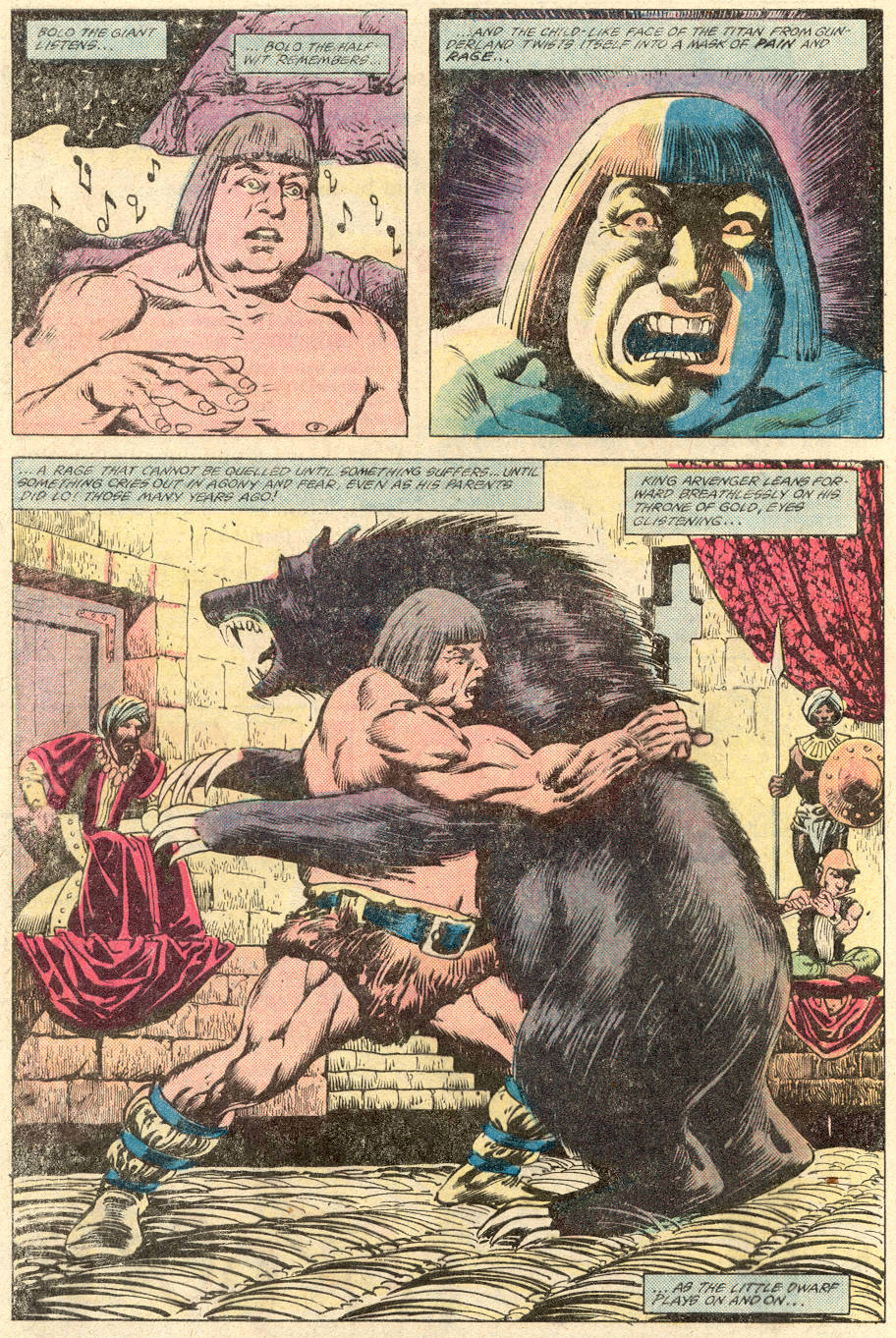 Conan the Barbarian (1970) Issue #137 #149 - English 5